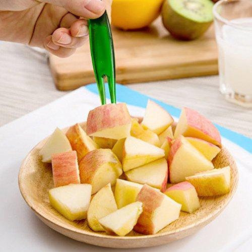Feuillets Rate 10 pièces/Jeu de Salade de Fruits Slicer Cutter Presse Citron Grinder Outils pour Apple Avocat Ampoule Orange