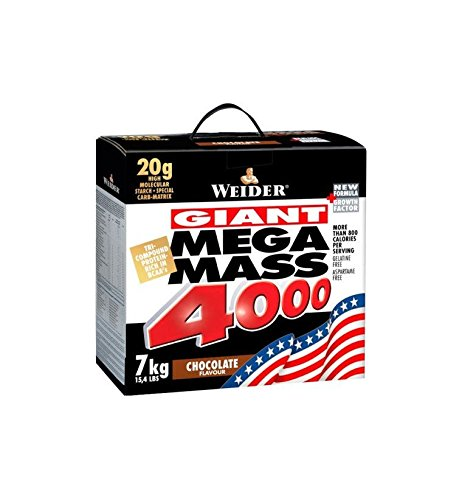 Weider Giant Mega Mass 4000 7kg - Chocolate