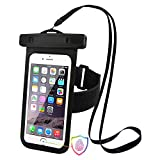 Waterproof Phone Case - with Armband, Support Touch ID, for Up to 5.5