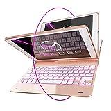 iPad Keyboard Case for iPad 2018 (6th Gen) - iPad 2017 (5th Gen)...