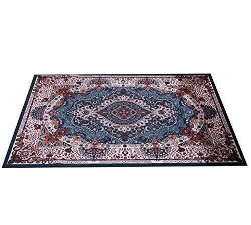 SISI Teppich, Sofa Couchtisch Vollbett Teppich, Home Room, Rechteckiger Teppich, Kissen, Komfort Carpet-9.10 (Color : C, Size : 140 * 200 cm)