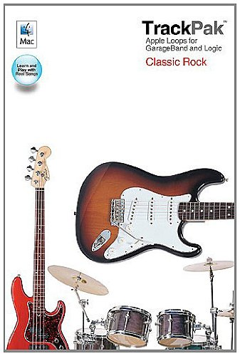 Trackpak Classic Rock All Inst Book/Dvd-R