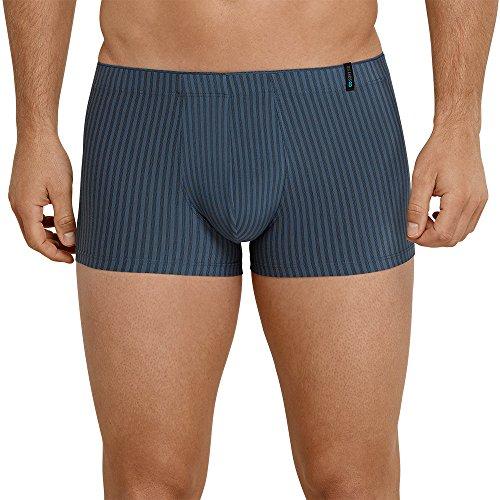 Schiesser Herren Long Life Cotton Shorts Boxershorts, Blau (Petrol 811), S
