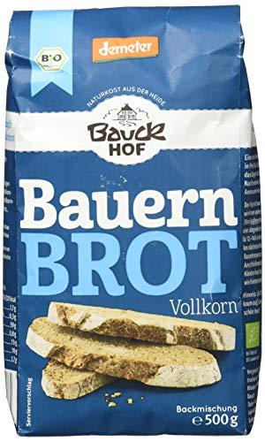 Bauckhof Demeter Bauernbrot Vollkorn, 500g