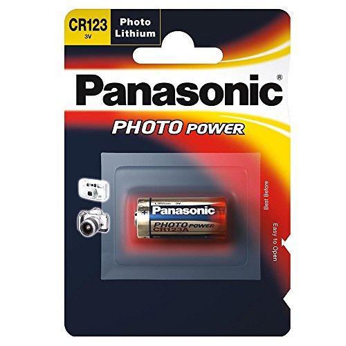 Panasonic Batterie Lithium Photo für z.B. Kameras CR 123 A P 1-BL