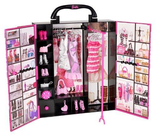 Barbie - X5357 - Accessoire pour Poupée - Fashionistas - Dressing de Rêve