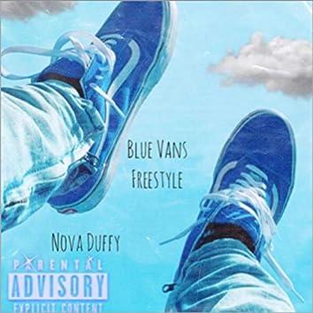 Blue Vans Freestyle