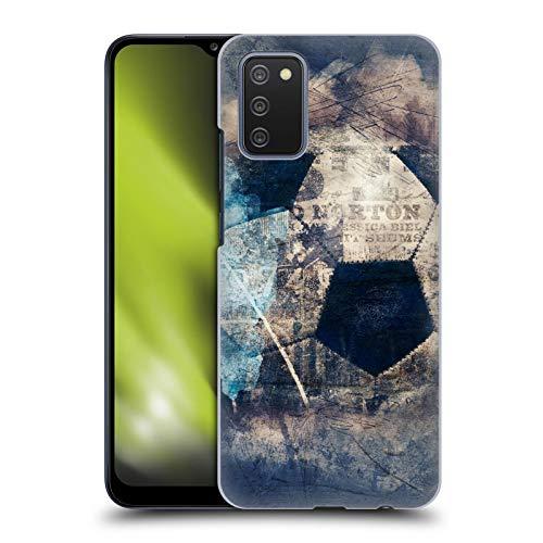 Head Case Designs sous Licence Officielle Simone Gatterwe Football Grunge Vintage Et Steampunk Coque Dure pour l'arrière Compatible avec Samsung Galaxy A02s (2021)