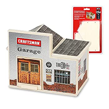 Craftsman Woodworking Garage Project Kit for Kids Educational Toy Realistic Carpentry Garage Construction Take-along Gift for Teen Boys & Girls Age 5+