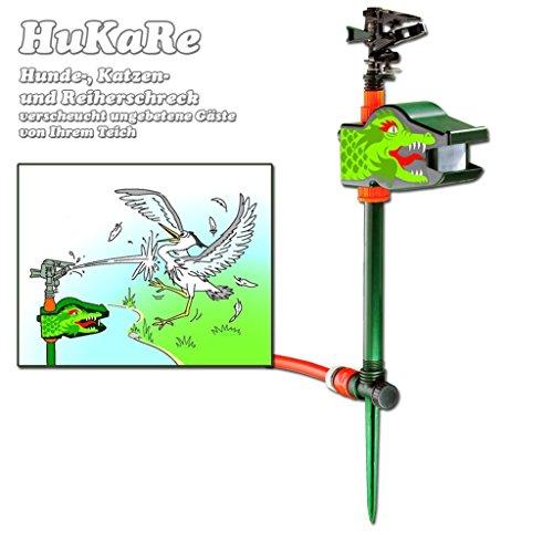 HuKaRe - Hunde-, Katzen und Reiherschreck bis 10 meter mit Wasserstrahl
