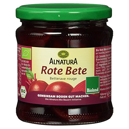 Alnatura Bio Rote Bete, vegan, 6er Pack (6 x 330 ml)