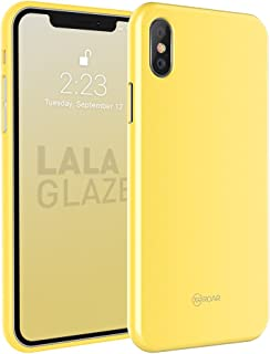 iPhone X/S Case [Glaze by Roar] Sparkling Silicone Design with Drop Protection