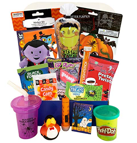 Deluxe Halloween Care Package, Halloween Toys, and Treats