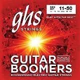 GHS Strings GBM Guitar Boomers, Nickel-Plated Electric Guitar Strings, Medium (.011-.050)