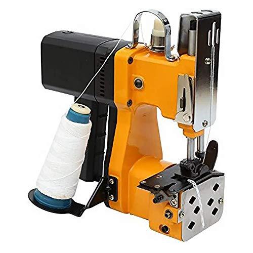 Kacsoo Máquina de cierre de bolsas, Máquina de coser portátil de 220 V Máquina de embalaje de cierre de cierre de sellado de bolsas de punto, Máquina de coser de bolsas de embalaje