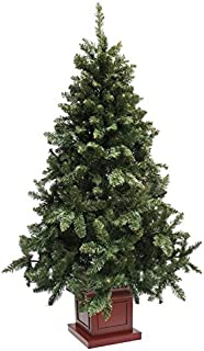 クリスマスツリー ウッドベースツリー ポット 組み立て式 210cm