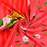 Stoffe Schulz | Baumwolljersey Panel Biene Maja, pink |