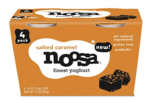 Noosa Yoghurt (Salted Caramel, 4 oz--Pack of 24)
