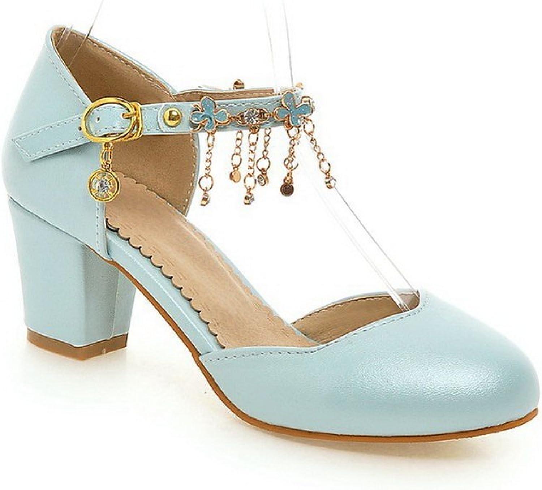 AN Womens Non-Marking Fringed Fashion Urethane Sandals DIU00949