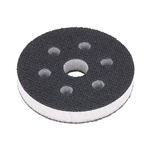 Softauflage 75mm 6-Loch aus Schaum (weich), Interface-Pad soft, Buffer Pad für Schleifteller/Polierteller und Klett-Schleifpapier - DFS