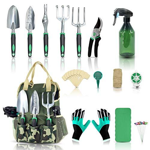 YARTTING Gartenwerkzeug-Set, 29-teilig,...