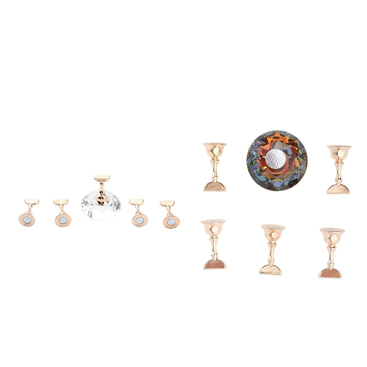 瀬戸際ケージ平行ネイルチップスタンド ディスプレイホルダー 磁気 ネイルアート道具 ネイルアートサロン用品