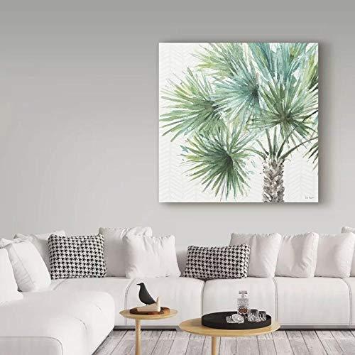wZUN Arte de Pared árbol Hermoso Regalo Lienzo decoración del hogar Ver Pintura HD impresión póster Imagen 50x50cm Sin Marco