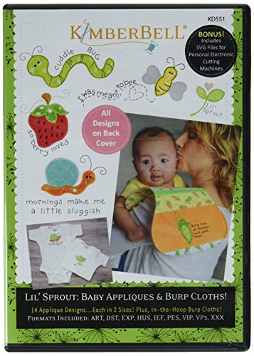 Price comparison product image Kimberbell Designs Lil' Sprout BabyAppliques Ptrn,  None