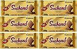 Suchard Turron Chocolate 260 gr - Lote de 6