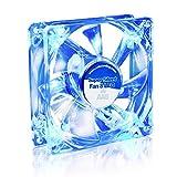 AABCOOLING Super Silent Fan 8 Blue LED - Un Silencioso y Muy Efectivo Ventilador 80mm con LED Azul, Ventilador de Portatil, Fan Cooler 8cm, Ventiladores PC, 33m3/h, 1600 RPM 13,9 dB(A)