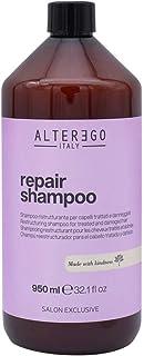 Alterego italy Repair Shampoo 950ml ristrutturante per capelli trattati e danneggiati
