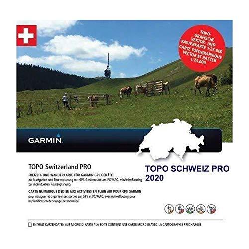 Garmin MicroSD/SD Card: TOPO Switzerland PRO