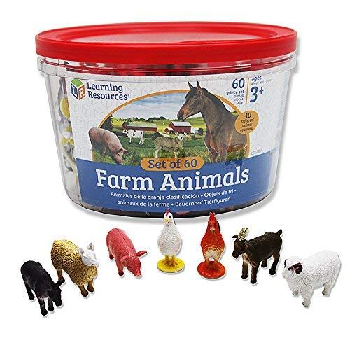 Learning Resources Bauernhof-Spielfiguren