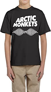 Youngster Tops Shirt Arctic Monkeys Round Neck Group Classic Comfort Teens Boys&Girls Tee