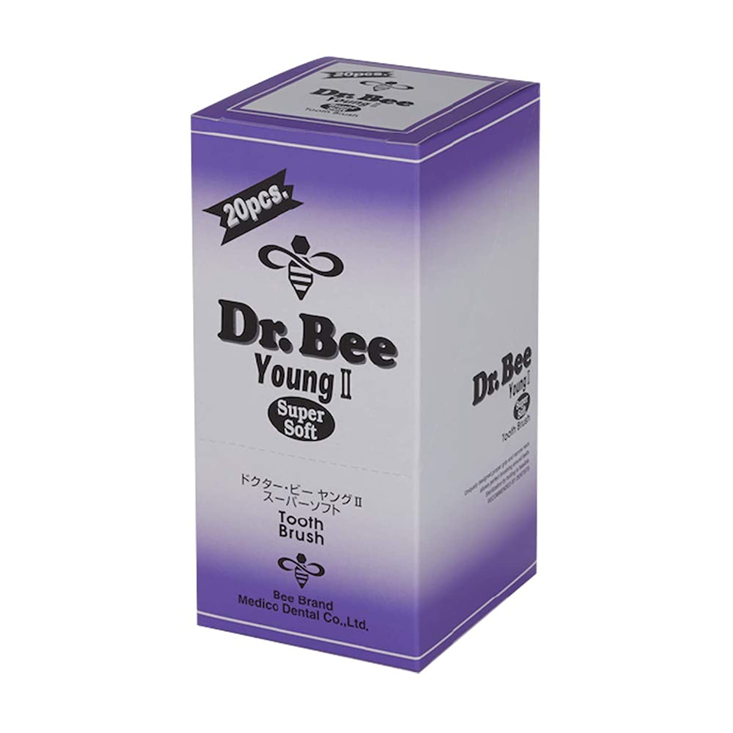 シンカン用心深いマチュピチュDr.Bee ヤングⅡ スーパーソフト 20本入り
