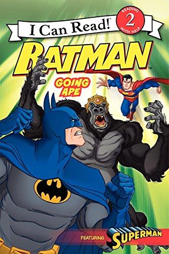 Batman Classic: Going Ape (I Can Read Level 2)