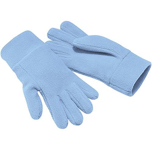Beechfield - Gants polaires - Adulte unisexe (XL) (Bleu ciel)
