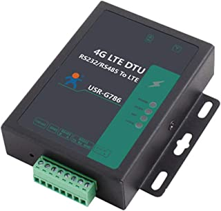 USR-G786-E Industrial Serial Celluar 4G LTE Modem RS232/RS485 to LTE Wireless Data Transmission Support Modbus/SMS Electri...