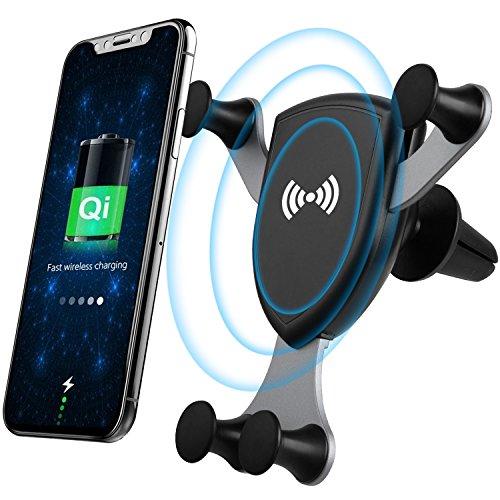 Star Sound Source Support de Montage Sans Fil de chargeur de Voiture Support de téléphone de Voiture à évacuation de gravité (Gravedad)