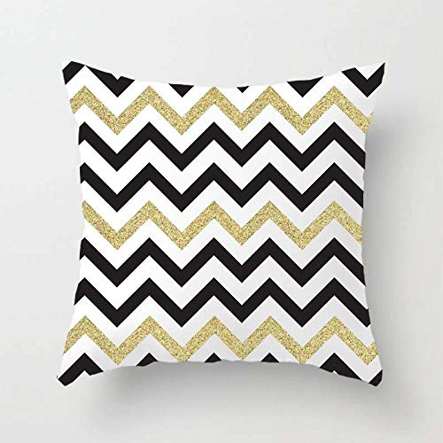 Swooggle Geometric Square Pillow Case Polyester Cushion Cover Home Sofa Seat Decoration Pillow Case 2BZ-40551-018
