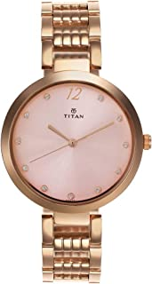 Titan Sparkle Dial Analog Watch for Women - 2480WM02