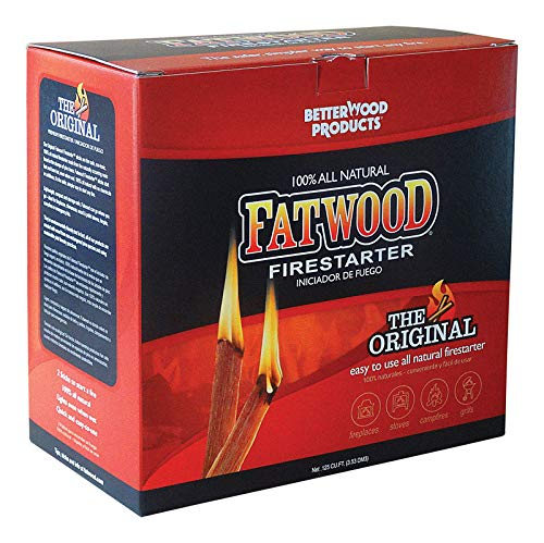 Why Should You Buy FATWOOD Wood Products Int'l 9987 Firestarter.125 Cu. Ft, 5-Lbs. - Quantity 4