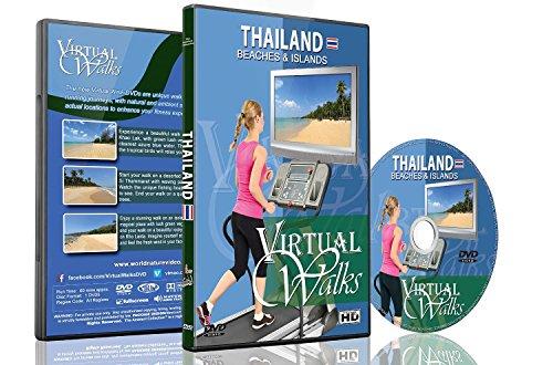 Promenades Virtuelles - Plages et îles Thaïlandaises pour exercices d'intérieur tapis roulant et vélo d'appartement