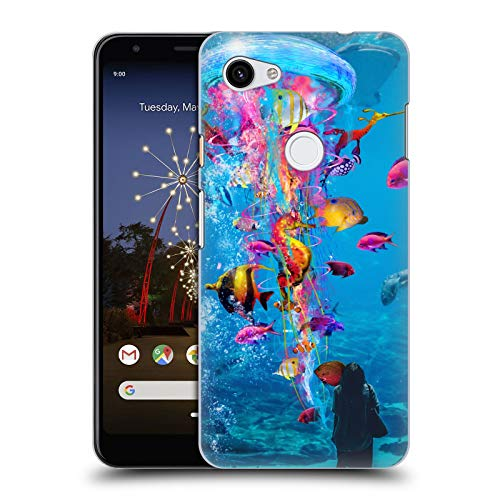 Official Dave Loblaw Aquarium Underwater Hard Back Case Compatible for Google Pixel 3a XL