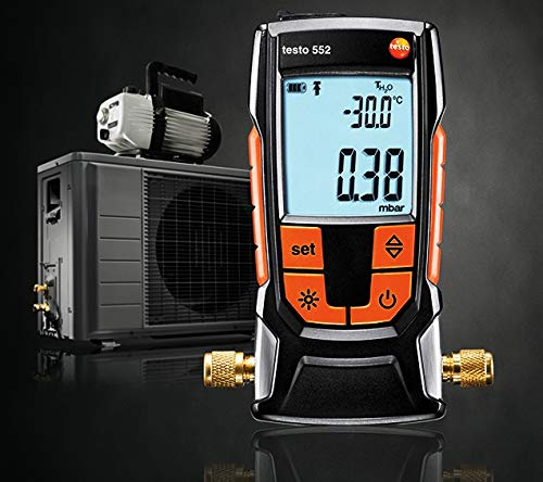 Testo 552 - Digital Vacuum/Micron Gauge with Bluetooth