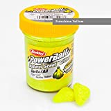 BerkleyPowerbait Natural Scent Trout Bait Glitter Garlic Sunshine Y