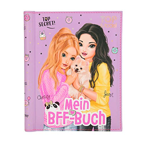 Depesche 11241 - Freundebuch TOPModel, Mein BFF Buch, ca. 22 x 18 x 2 cm