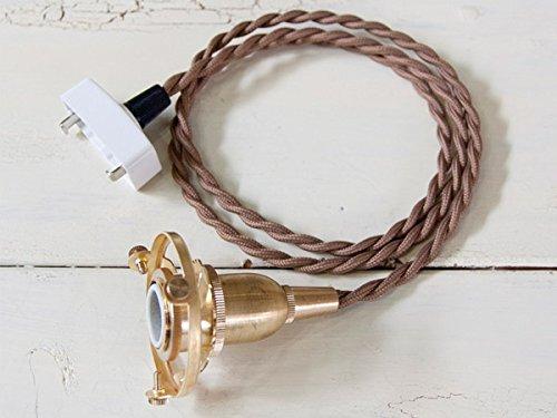[アクシス]ペンダントE17用BR100cm ランプシェード用引掛けシーリング付ペンダント灯具 HS1856
