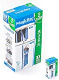 MagicBag Smart Design Instant Space Saver Storage - Hanging Extra Large Dress - Airtight Double Zipper - Vacuum Seal - Clothing, Pillows - Home Organization - (2 Bags)