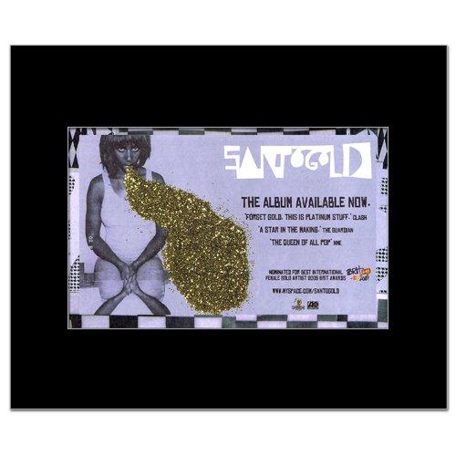 SANTOGOLD - Album Matted Mini Poster - 21x13.5cm